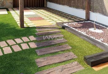 草坪装饰庭院